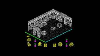 Head Over Heels (1987) 128k AY music version Walkthrough + Review, ZX Spectrum