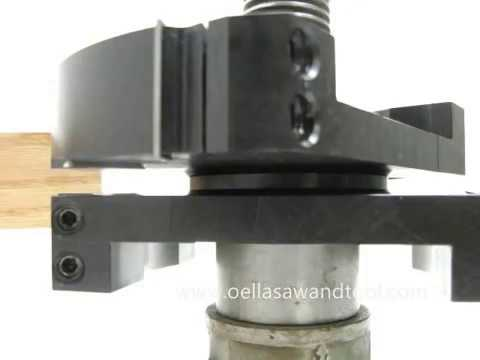 Leitz shaper cutter groove joint, rebate and tenon