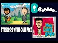 how to make cartoon sticker of your face for whatsapp,hike  in 2mins