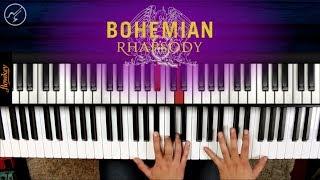 Bohemian Rhapsody QUEEN Piano Tutorial | Notas Musicales Christianvib