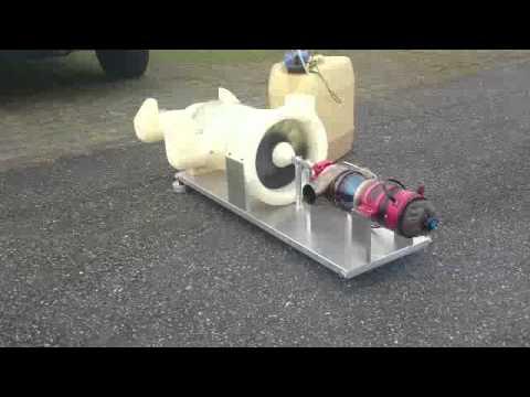Turbofan test #1