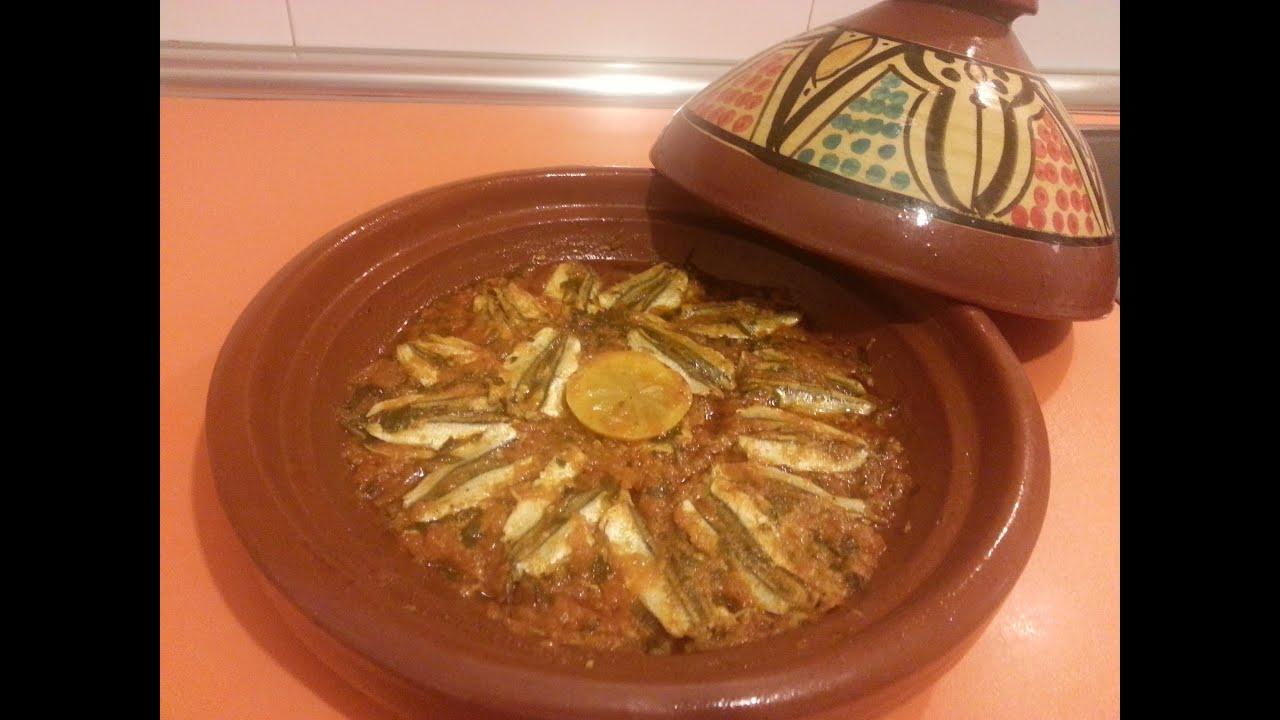 El arte de la cocina árabe - Tajine de Boquerones - YouTube