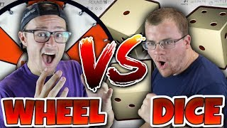 SPIN THE WHEEL vs DICE ROLL DRAFT CHALLENGE!! Madden 19 MUT Draft