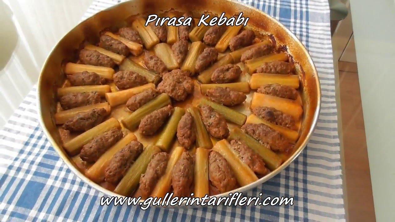 Köfteli Pırasa Kebabı Tarifi