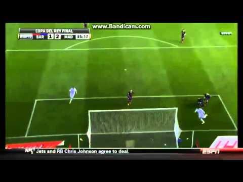 Gareth Bale Copa Del Rey Final