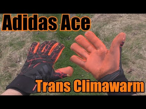 Goalkeeper Glove Review: Adidas Ace Trans Climawarm