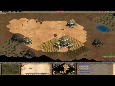 Age of Empires II en Directo - Jugando TG con Nicov y Viper