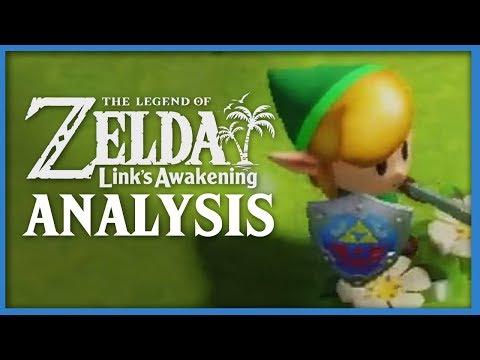 Link's Awakening Trailer ANALYSIS! (Zelda)