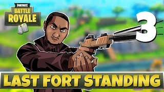 [3] Last Fort Standing (Let's Play Fortnite: Battle Royale w/ GaLm and friends)