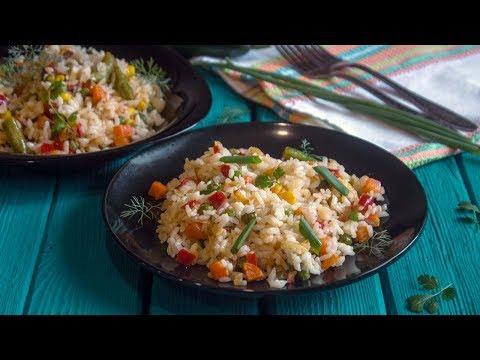 Рис с мексиканской смесью