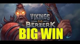Online slots HUGE WIN 2.5 euro bet - Vikings Go Berzerk Ragnarok Spins BIG WIN