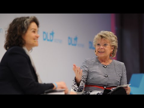 Industry 4.0 - European Innovation Challenges (Viviane Reding & Claudia Nemat) | DLDwomen 14