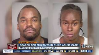 Officials seek two wanted for child abuse