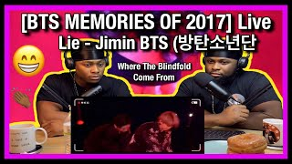[BTS MEMORIES OF 2017] Live - Lie - Jimin BTS (방탄소년단)|Brothers Reaction!!!!