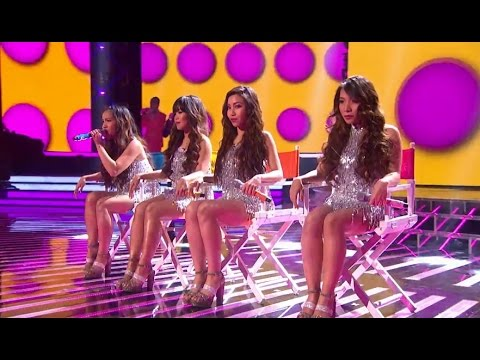 4th Impact - Work It Out | Live Week 3 | The X Factor 2015