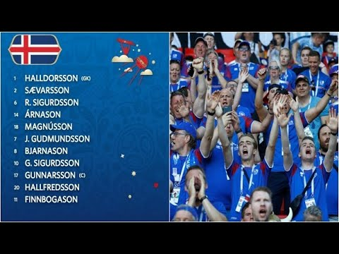 Here's Why Iceland Players Have a Surname Ending in Son I FIFA World Cup 2018