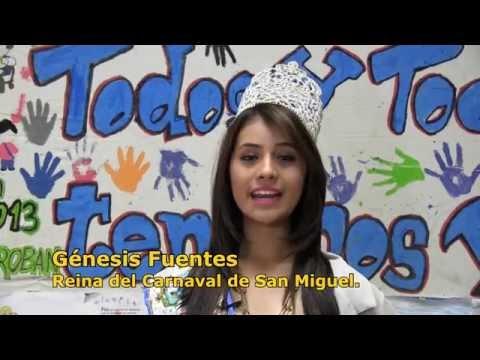 Mensaje de la Reina de San Miguel, Génesis Fuentes (2014)