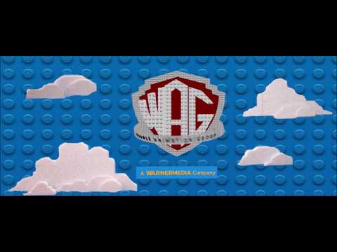 Warner Bros  Pictures & Warner Animation Group Logo Remake The LEGO Movie & The LEGO Movie 2