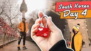 Last Day in Korea (Namsan Tower + Dog Cafe) | #RedVlogs