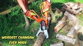 Weirdest Chainsaw Ever Made