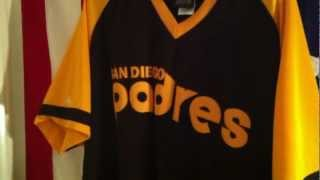 Cooperstown Collection 1978 San Diego Padres Road Jersey