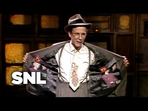 Harry Anderson Monologue: A New Start - Saturday Night Live