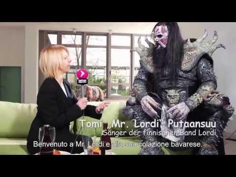 "LORDI - Intervista Mr. Lordi - ""Die Grüne Couch"" [Sub. Ita]"