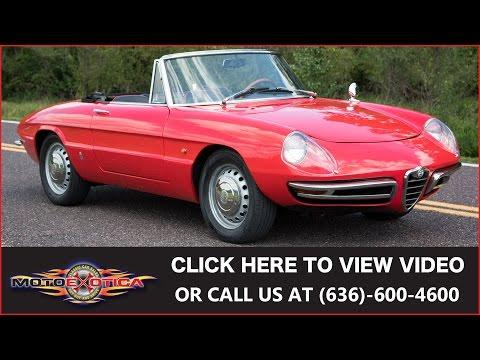 1967 Alfa Romeo Duetto (SOLD)