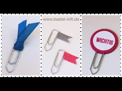 Diy Buroklammer Verzierung Paper Clip Embellishment Stampin Up
