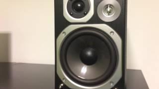 Panasonic SC-PMX4 50K Bass Test