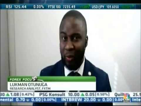 CNBC Africa interview with Lukman Otunuga | 14/05/2019