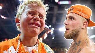 Someone made Tydus CRY at the Jake Paul FIGHT