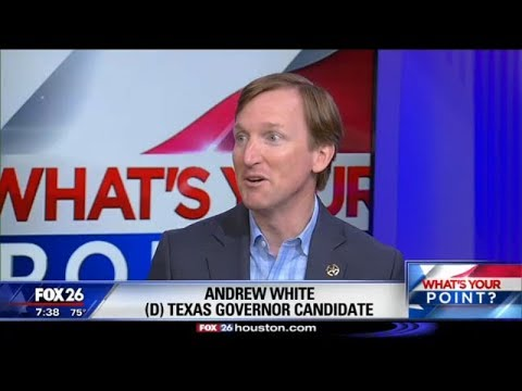 What's Your Point? hot seat - Andrew White