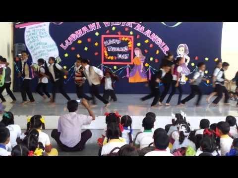 Sorry Sorry - ABCD L.V.M School Choreography By Manish & Govinda (Teachers Day) 2013