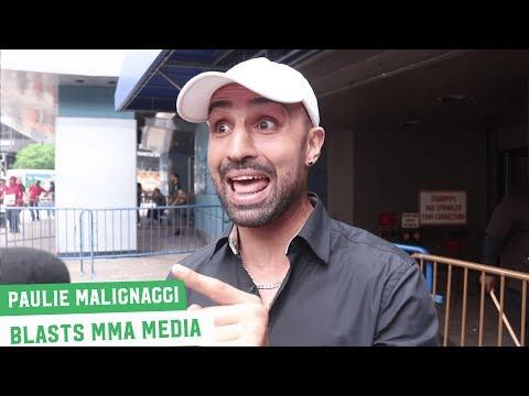 Paulie Malignaggi: I would've spit on Artem Lobov's mother if she was at the presser