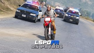 LSPDFR - Day 356 - Dirt Bike Police Chase