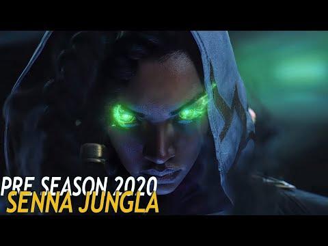 PRE TEMPORADA 2020 | SENNA JUNGLA | Nuevos DRAGONES OP 3 Oneshots en segundos!