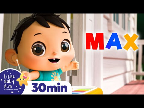 Whats Your Name Song Nursery Rhymes Kids Songs Baby Songs Little Baby Bum