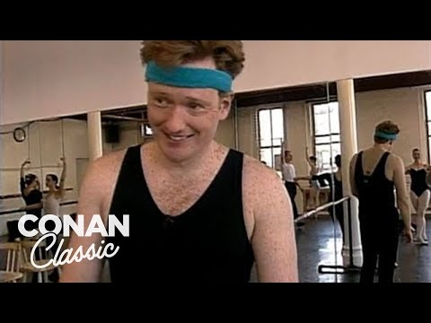 """Conan Learns How To Dance - """"Late Night With Conan O'Brien"""""""