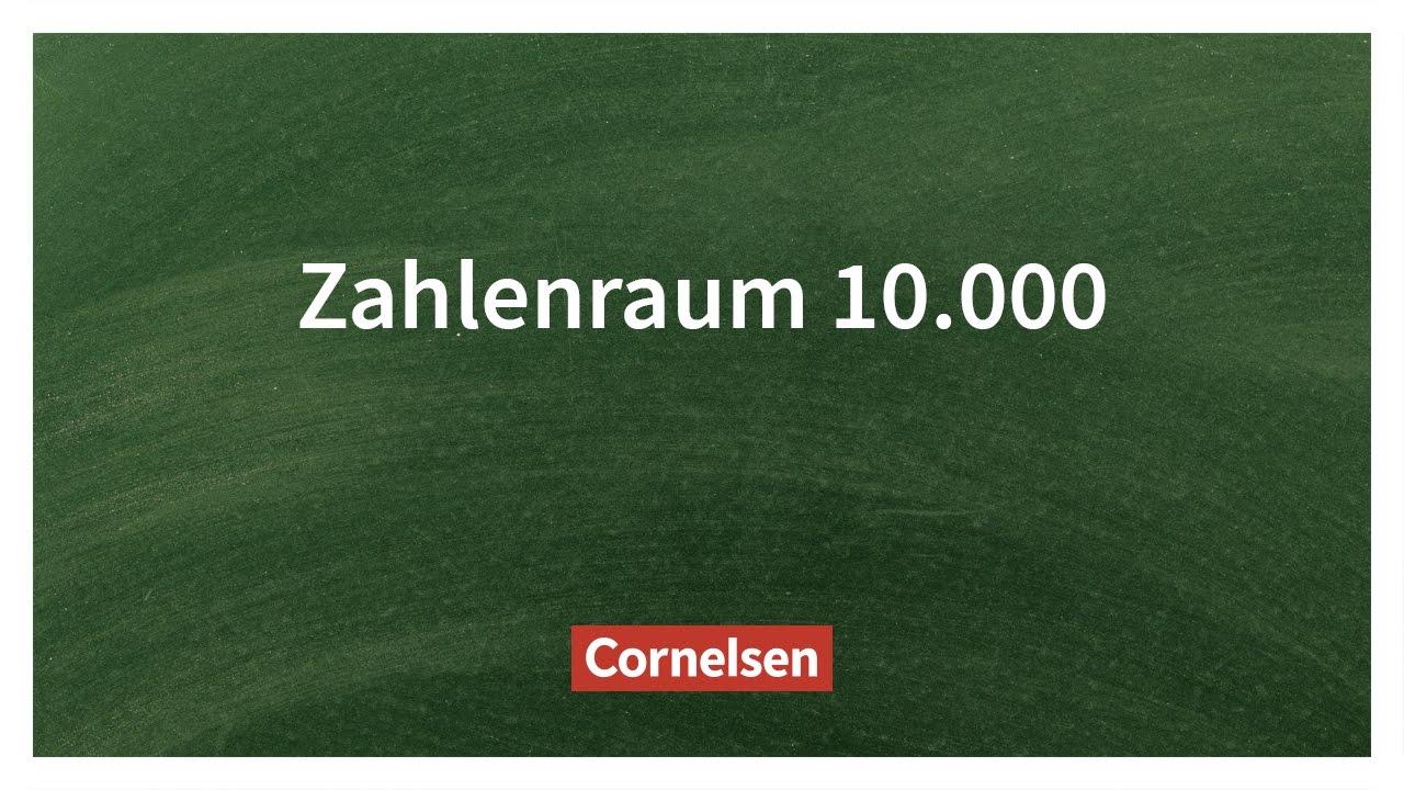 Den Zahlenraum 10.000 Lesen und Legen – Einfach erklärt | Cornelsen ...