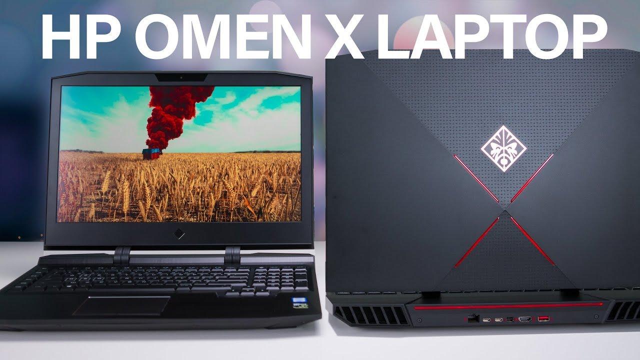 HP Omen X Gaming Laptop Review (i7 7820HK + GTX1070 OC)