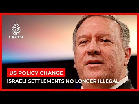 Pompeo: Israeli settlements not 'inconsistent' with int'l law