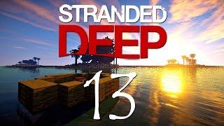 Minecraft - STRANDED RAFT - 13. rész
