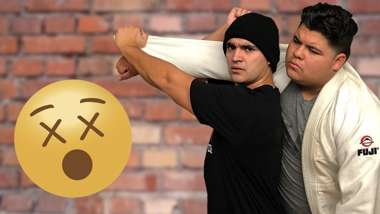 Judo Throws Don't Work