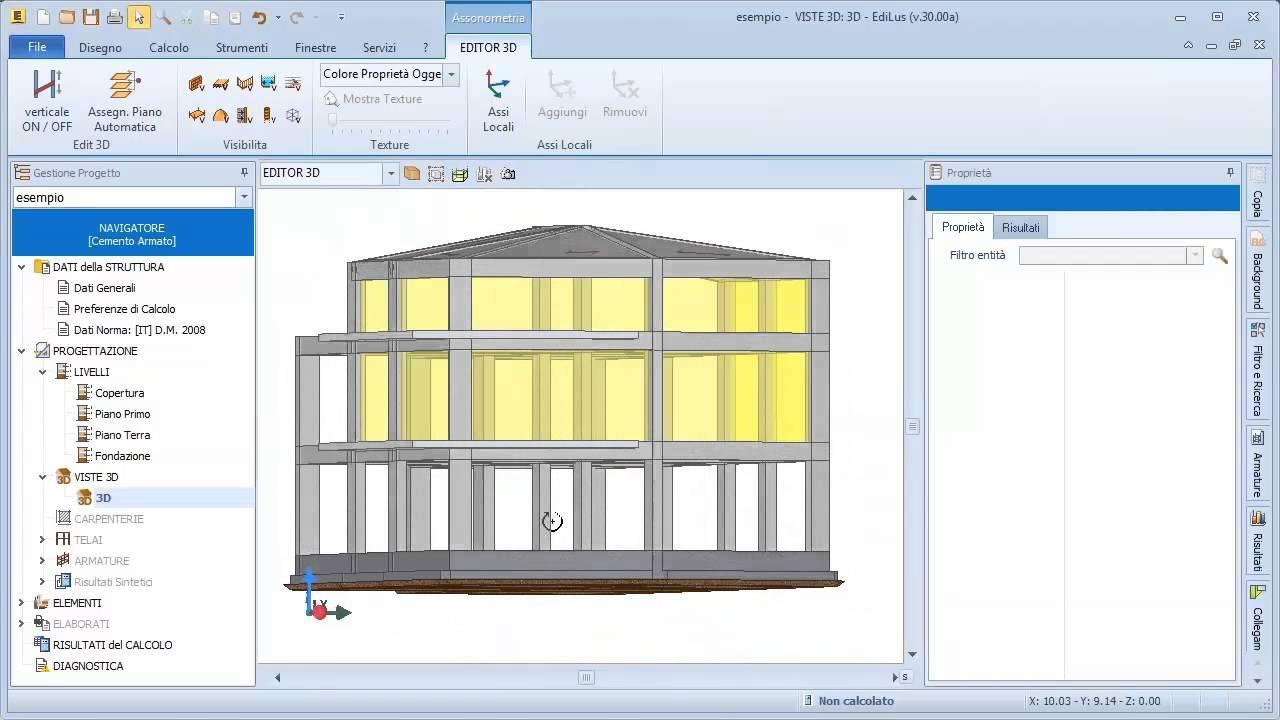 Software calcolo strutture cemento armato edilus ca acca software youtube - Programma per calcolo posa piastrelle ...