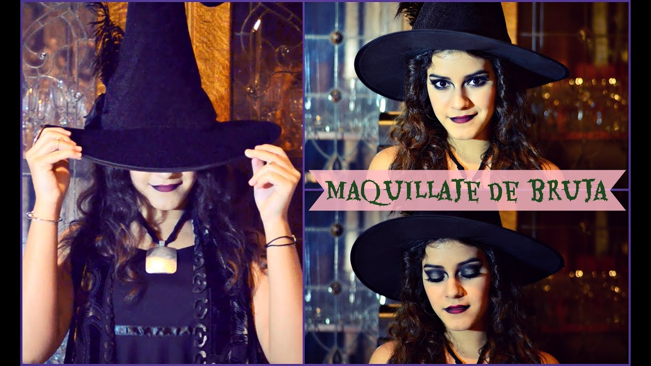 Tutorial de maquillaje para halloween de bruja