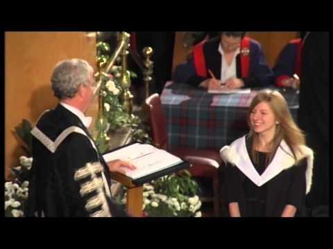 2011 Graduation Ceremony @ University of Edinburgh