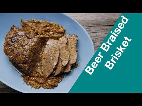 🔵 Incredibly Tasty Beer Braised Beef Brisket || Glen & Friends Cooking