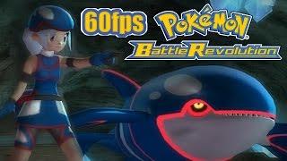 Let's Battle: Pokemon Battle Revolution (Wii) - Crsystal Colosseum Tournament Part 1 - 1080p 60fps