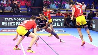 Pro Kabaddi 2019 Highlights  Telugu Titans Vs Gujarat Fortunegiants   M126